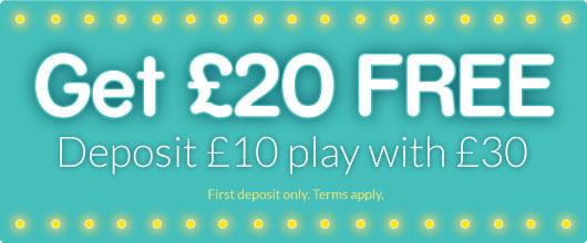 claim £20 free